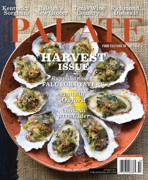 The Local Palate Cover - 10/1/2015