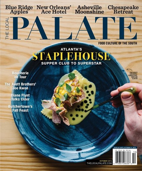 The Local Palate Cover - 10/1/2016