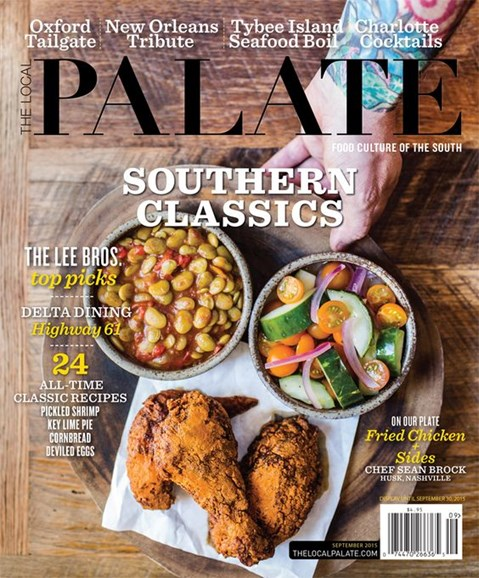 The Local Palate Cover - 9/1/2015