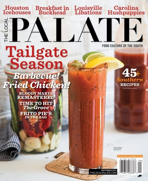 The Local Palate Cover - 9/1/2016