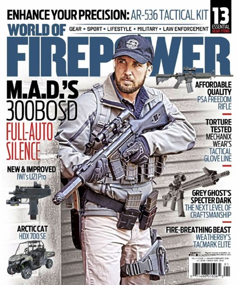 World of Firepower Cover - 1/1/2016
