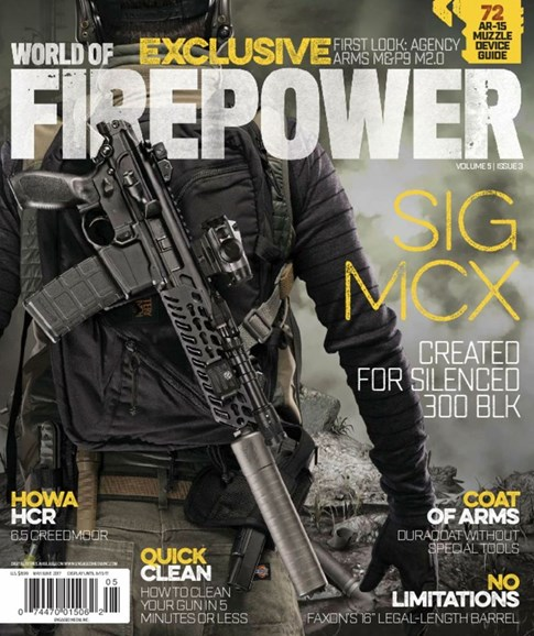 World of Firepower Cover - 5/1/2017