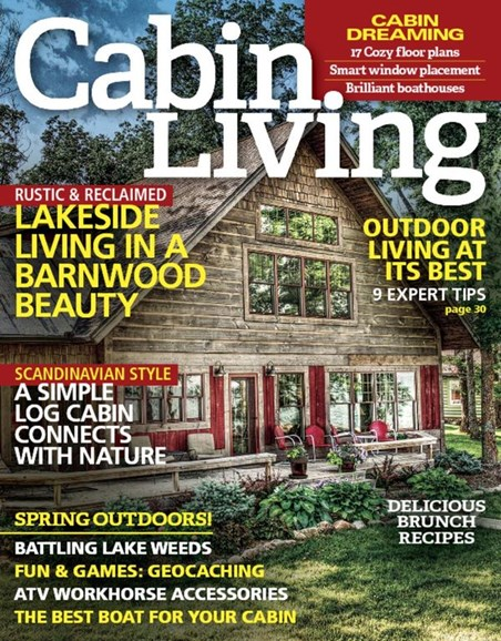 Cabin Living Cover - 4/1/2016