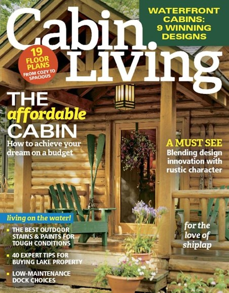 Cabin Living Cover - 4/1/2017