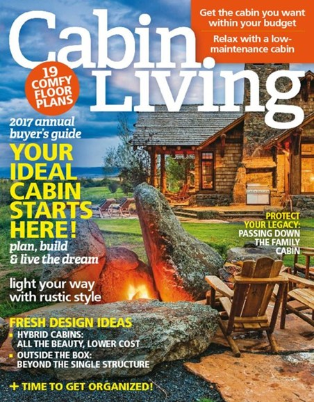 Cabin Living Cover - 1/1/2017