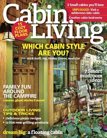 Cabin Living Cover - 7/1/2016