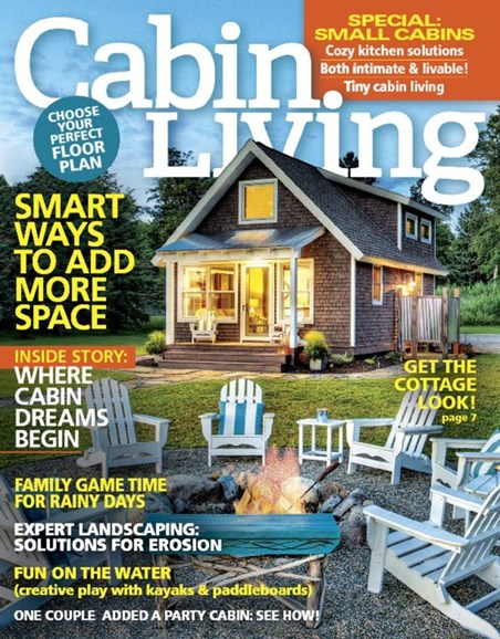 Cabin Living Cover - 3/1/2016