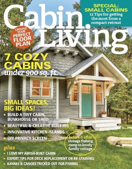 Cabin Living Cover - 3/1/2017