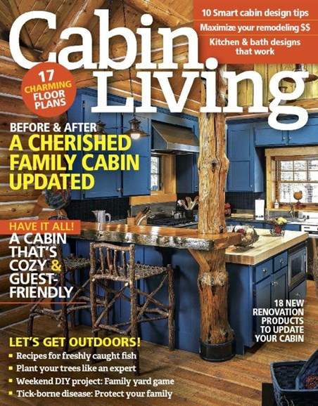 Cabin Living Cover - 5/1/2016