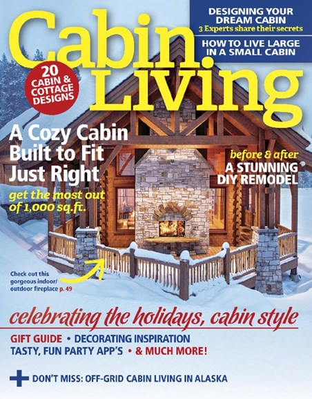 Cabin Living Cover - 11/1/2016