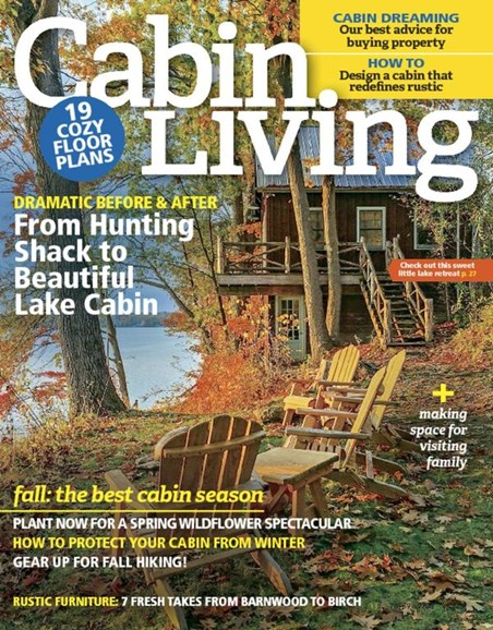 Cabin Living Cover - 10/1/2016