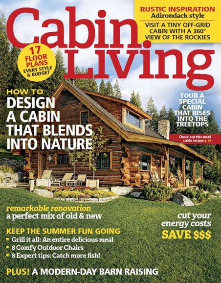 Cabin Living Cover - 9/1/2016