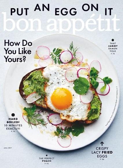 Bon Appétit Cover - 4/1/2017