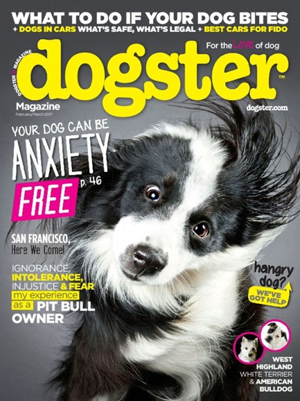 Dogster Cover - 2/1/2017