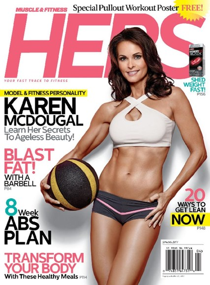 Muscle & Fitness Hers Cover - 3/1/2017