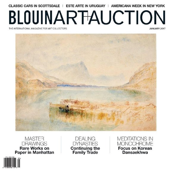 Blouin Art & Auction Cover - 1/1/2017