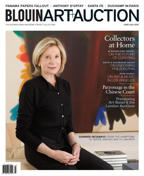 Blouin Art & Auction Cover - 6/1/2016