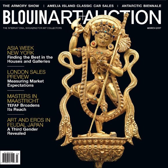 Blouin Art & Auction Cover - 3/1/2017