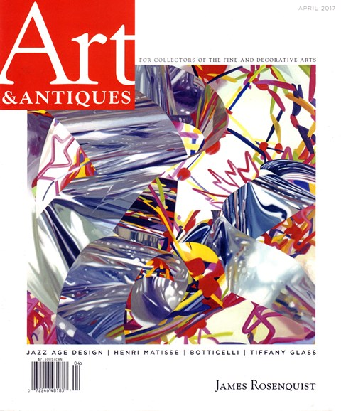 Art & Antiques Cover - 4/1/2017