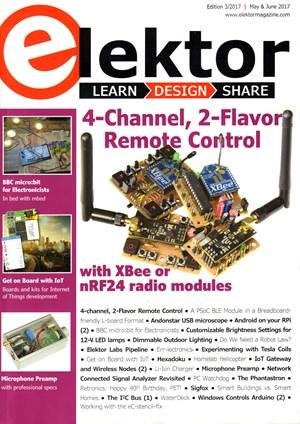 Elektor Magazine | 5/1/2017 Cover