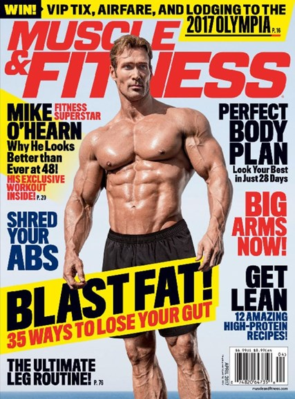 Muscle & Fitness Cover - 4/1/2017