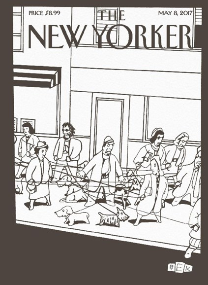 The New Yorker Cover - 5/8/2017