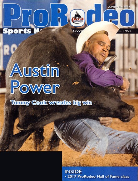 Pro Rodeo Sports News Cover - 4/14/2017