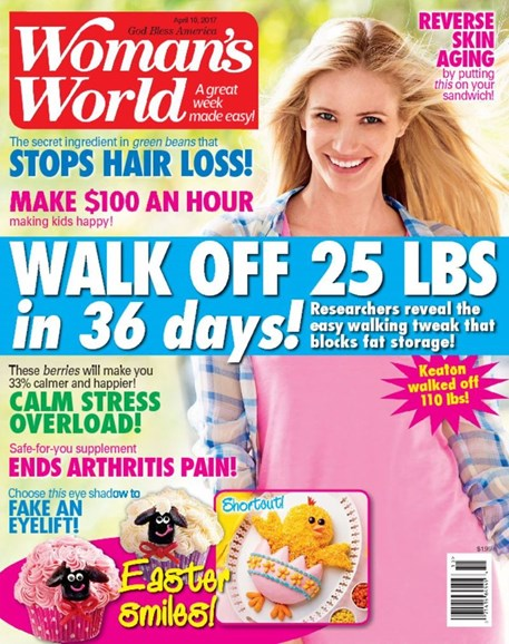 Woman's World Cover - 4/10/2017
