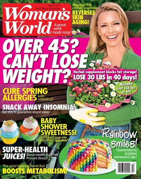 Woman's World Cover - 4/24/2017