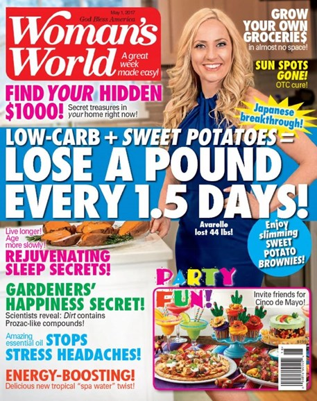 Woman's World Cover - 5/1/2017