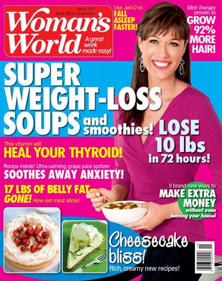 Woman's World Cover - 5/8/2017