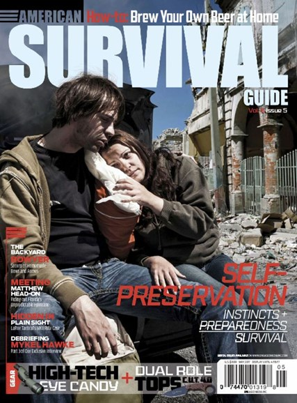 American Survival Guide Cover - 5/1/2017