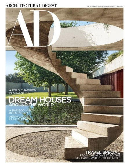 Architectural Digest Cover - 5/1/2017