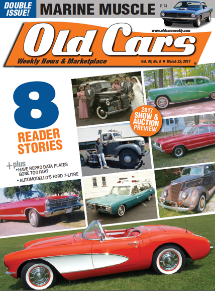 Old Cars Cover - 3/23/2017
