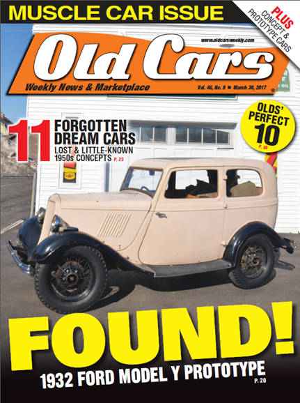 Old Cars Cover - 3/30/2017