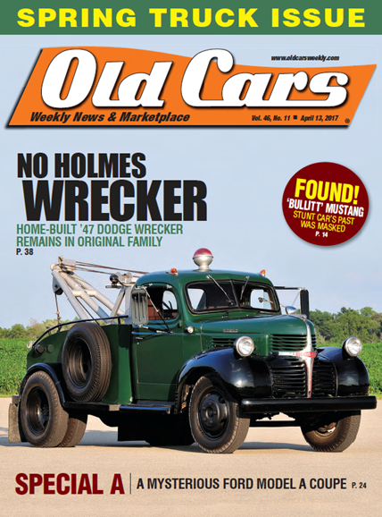 Old Cars Cover - 4/13/2017