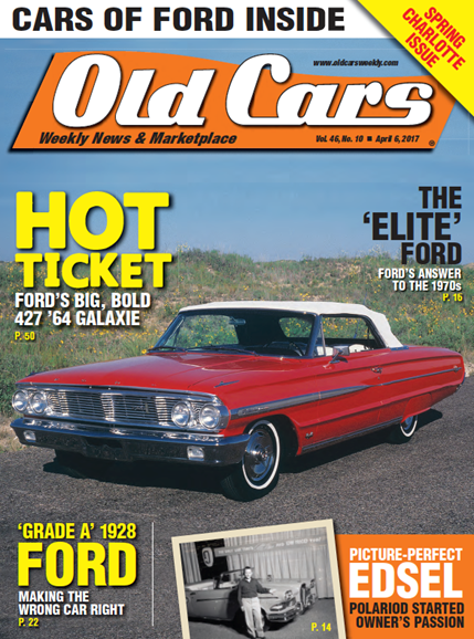 Old Cars Cover - 4/6/2017