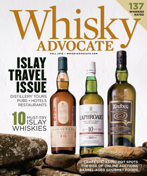 Whisky Advocate Cover - 9/1/2016
