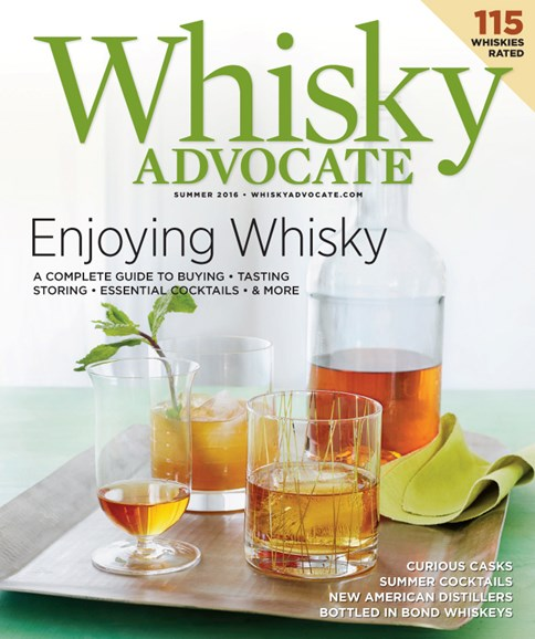 Whisky Advocate Cover - 6/1/2016