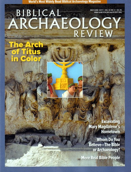 Biblical Archaeology Review Cover - 5/1/2017