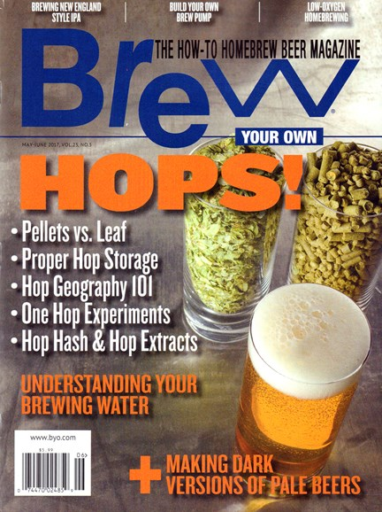 Brew Your Own Cover - 5/1/2017
