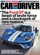 Car And Driver Magazine 5/1/2017