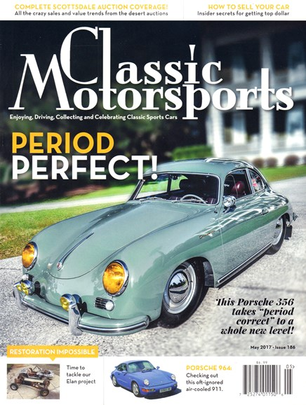 Classic Motorsports Cover - 5/1/2017