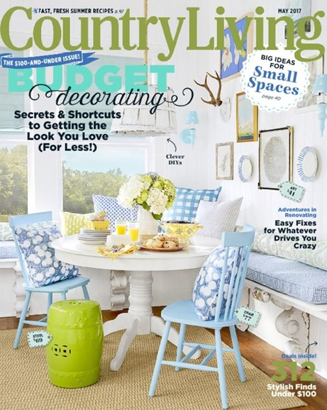 Country Living Cover - 5/1/2017