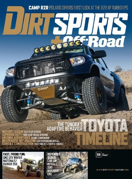 Dirt Sports & Off-Road Cover - 5/1/2017