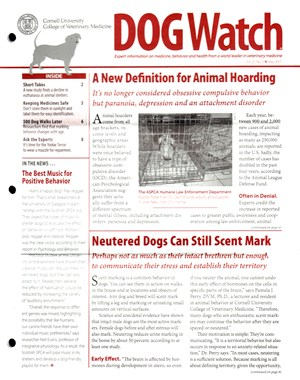Dogwatch Newsletter | 5/2017 Cover