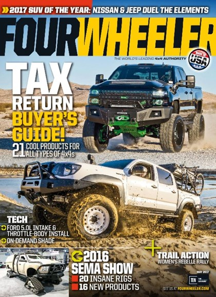 Four Wheeler Cover - 5/1/2017
