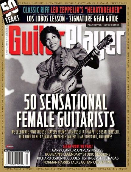 Guitar Player Cover - 5/1/2017