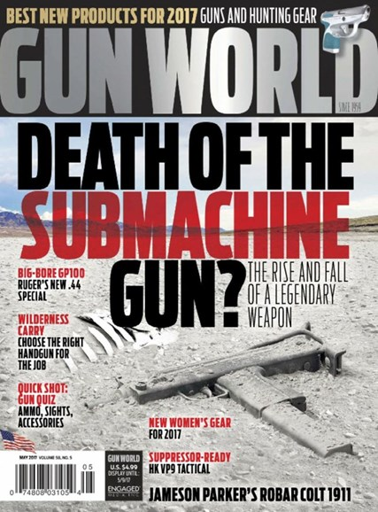 Gun World Cover - 5/1/2017