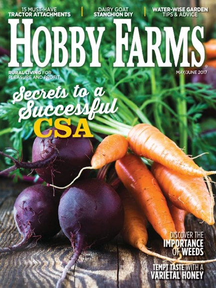 Hobby Farms Cover - 5/1/2017